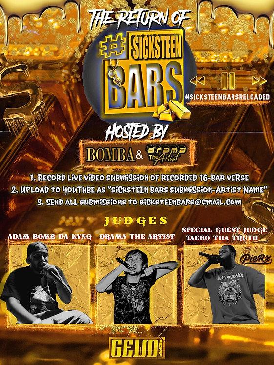Sicksteen Bars 2 Flyer