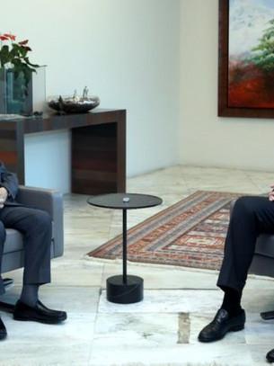 Beirut – Michel Aoun incontra Najib Mikati