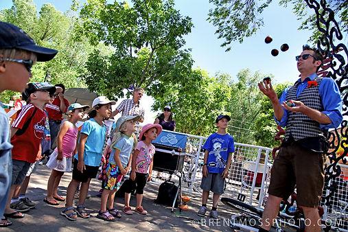 Jammin Jim Juggling for Kids