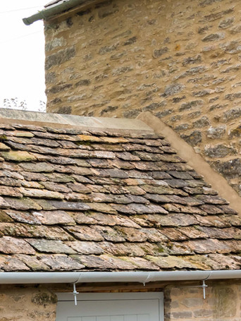 Our tradesmen are experienced in the renovation and repair of traditional Cotswold stone roofs. We also install more modern equivalents made from cement based tiles, weathered and cut to look like traditional stone.