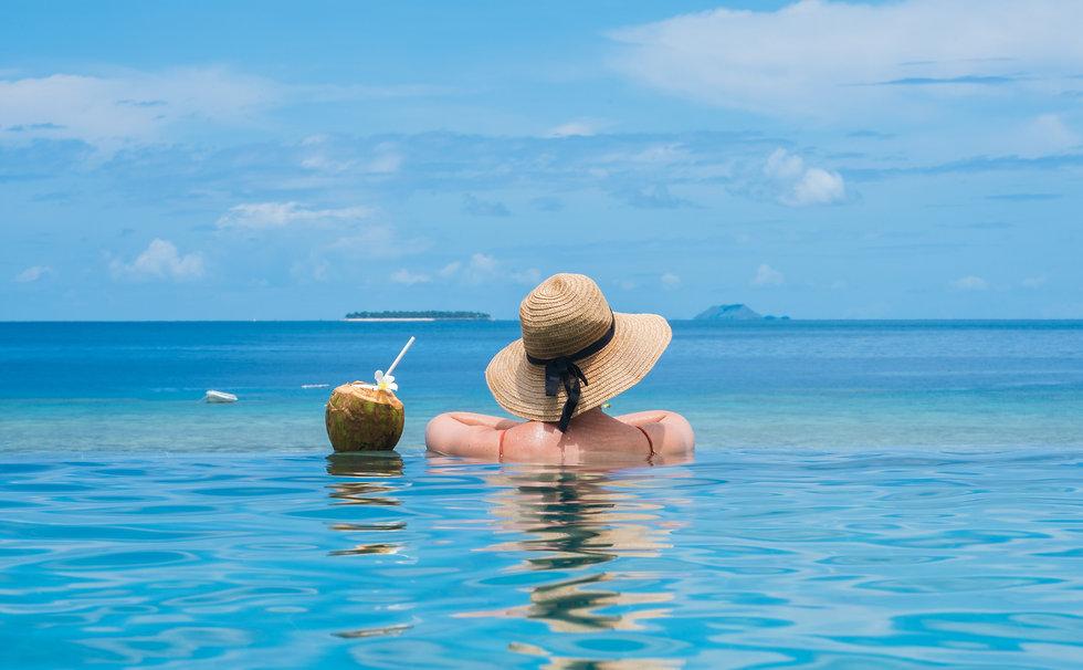 Fiji Day Cruise Infinity Pool