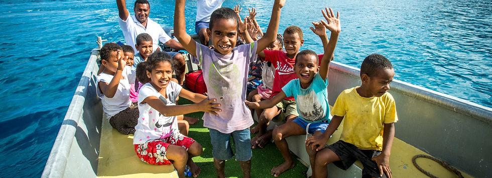 Vinaka Fiji children