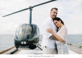 Marriage proposal helicopter package