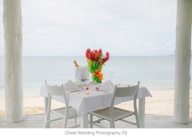 Private dining for two