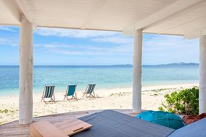 Beachside Grand Cabana at Malamala Beach Club
