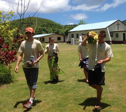 Yasawa Island village community work