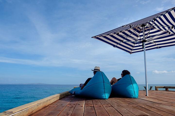 Fiji island day cruise Malamala Beach Club jetty