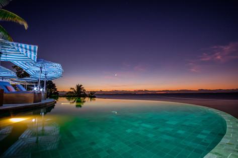 Sunset at Malamala Beach Club