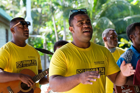 Vinaka Fiji welcome staff