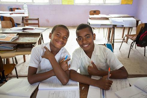 Donations help schools in the Yasawa Islands