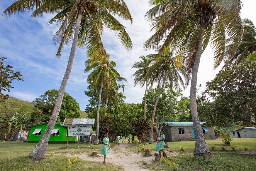 Yasawa Island school