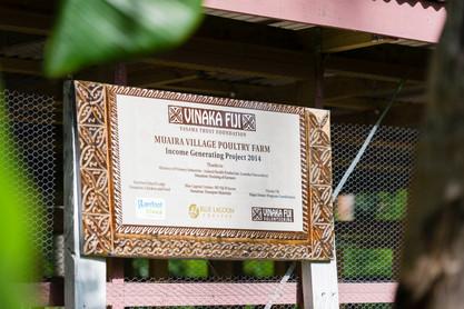 Vinaka Fiji signage