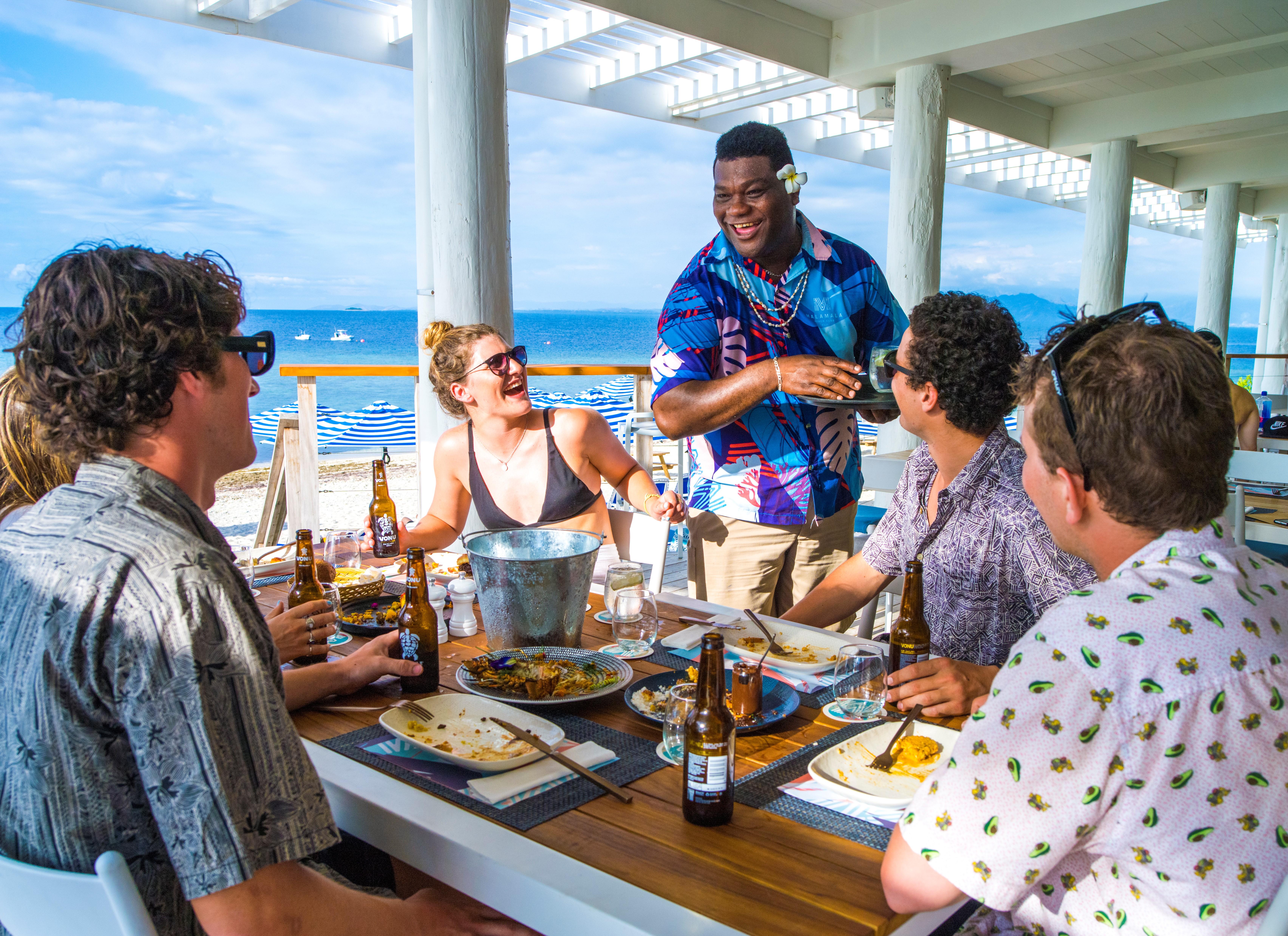 Restaurant dining Fiji