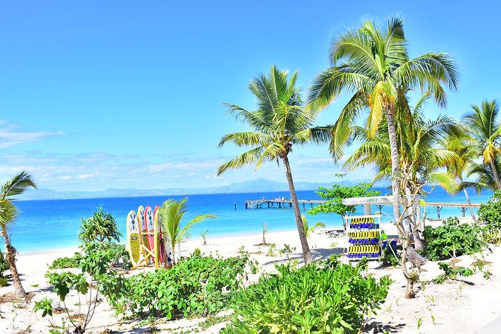 paddle boarding Fiji Island Day Cruise