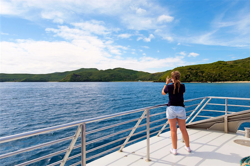 Being a tourist in the Yasawa Islands