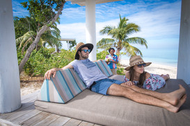 Book your own Beachside Cabana for the day