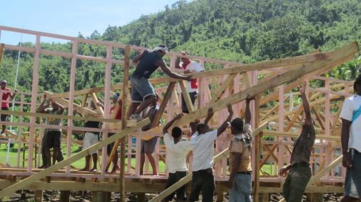 Vinaka Fiji building project