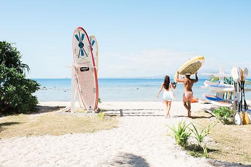 Watersports area at Malamala Beach Club