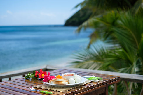 Meals while doing Vinaka Fiji Packages