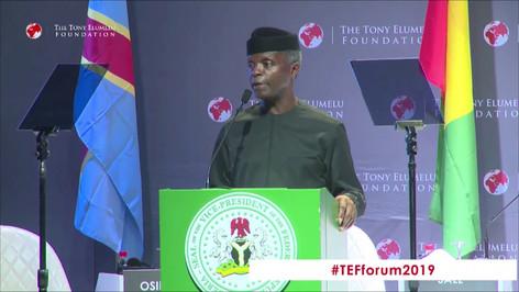 Nigerian Vice President Yemi Osinbajo talks about Exportunity