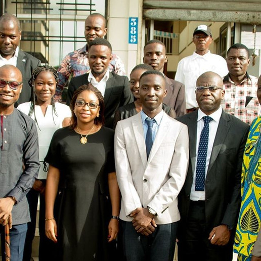 Mrs. Aurelie Ilimatou Adam Soule, Minister of Digital Economy and Communication of Benin Visited our offices