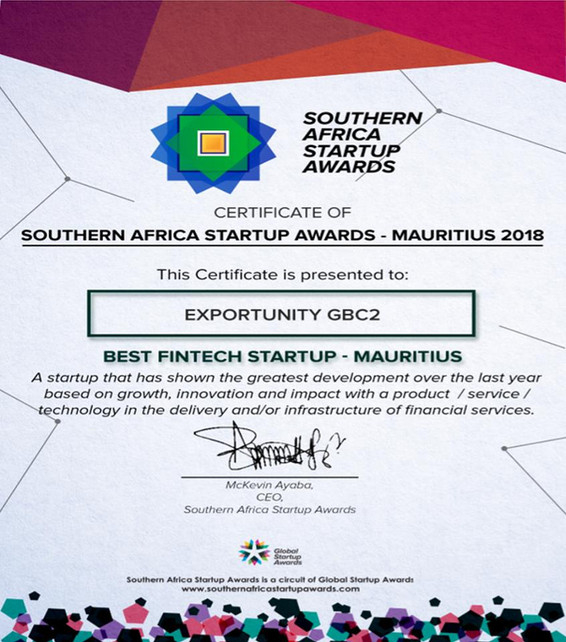Best Fintech Startup in Mauritius