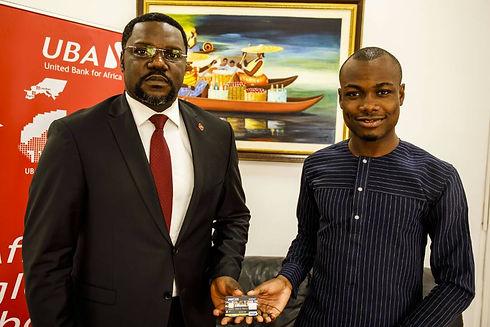Mr. Ellis Nzo Asu and Mr. Vital Sounouvo
