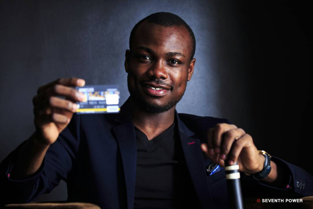 Mr. Vital Sounouvou launching XportCARD
