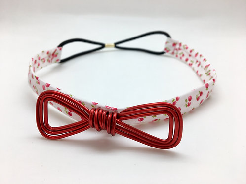 Headband rouge cerise