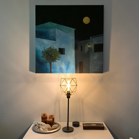 Orange Tree and the Night for Interior decoration