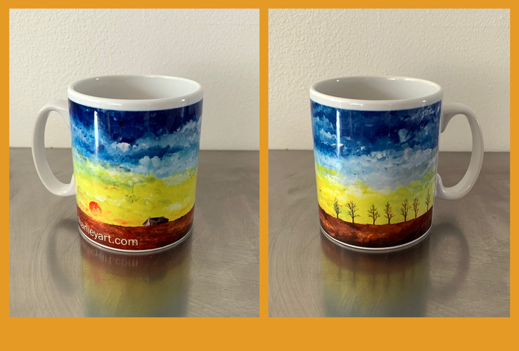 The Sky Art Mug