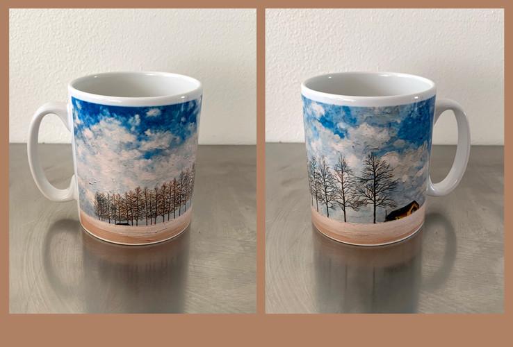 Sejin's Winter Art Mug