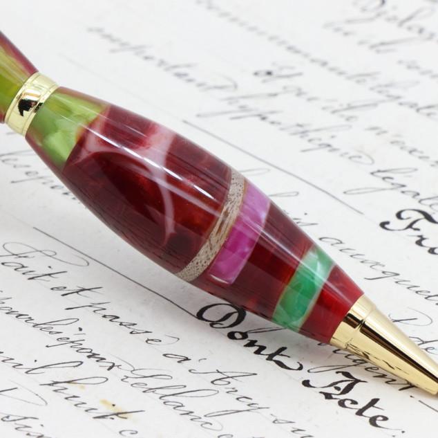手作りペン作家ViriditasボールペンカテドラルFLP001.JPG