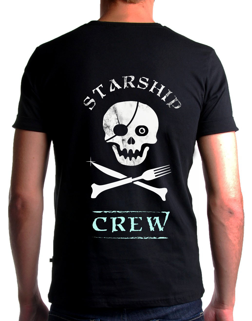 Starship Cooker t shirt