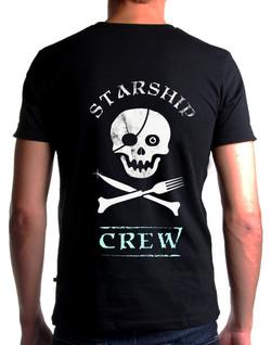 Starship Cooker t shirt