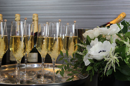 champagne with flowers.JPG