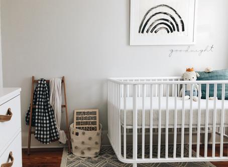 Baby Boy's Modern Nursery Reveal