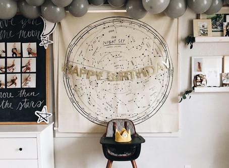 Moon & Stars 1st Birthday