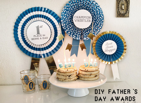 DIY Father's Day Awards