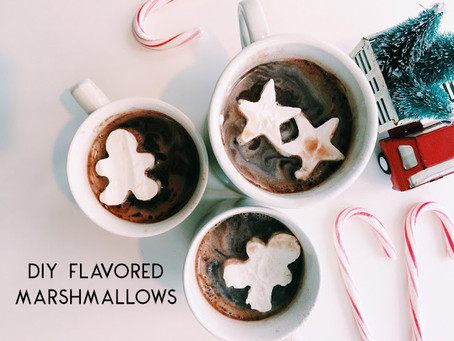 For the Love of Hot Cocoa: Festive Marshmallow Recipes