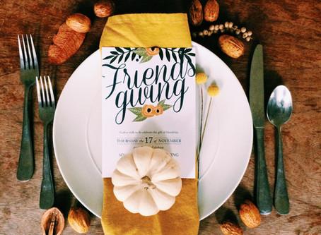 Friendsgiving + Printable Invite