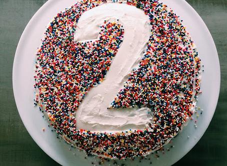 DIY Number Cake + Printables