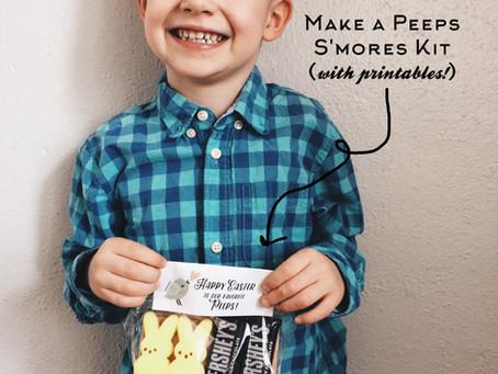 Peeps S'mores Kit + Printable