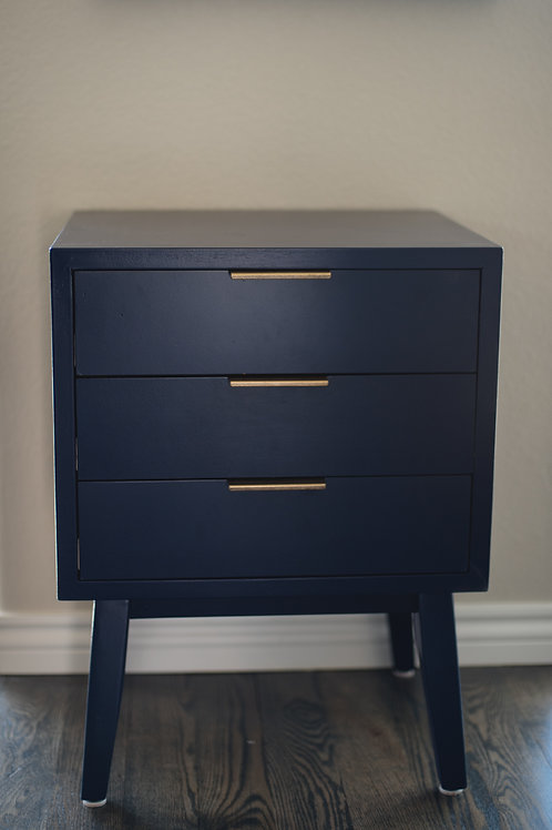 Sweet Navy Side Table