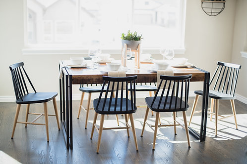 Industrial & Rustic Style Dining Table