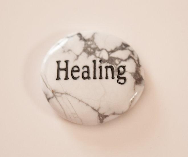 Healing- Howlite Wish Stone