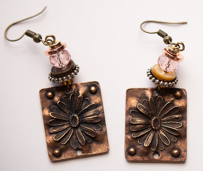 Pink and Bronze Daisies