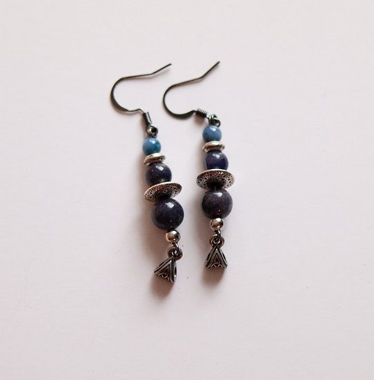 Black and Blue Dangles