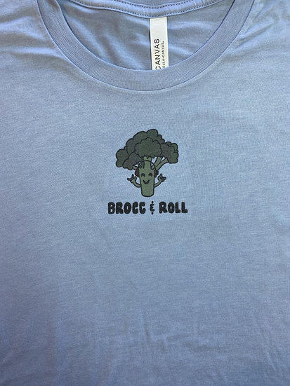 Unisex Cool Broccoli crewneck T