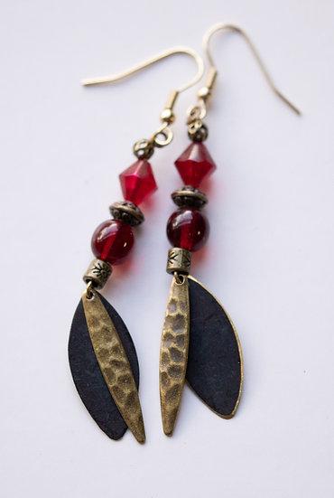 Red and Bronze Metals